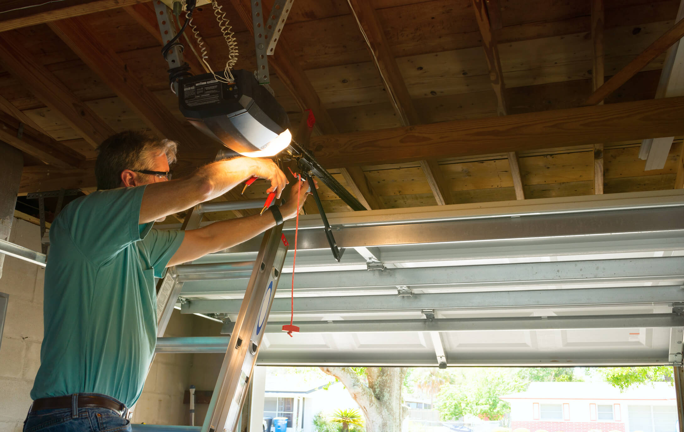 What is Included in a Garage Door Maintenance Check?